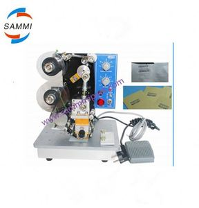 Electronic Desk Ribbon Coding Machine/hot stamp date coder