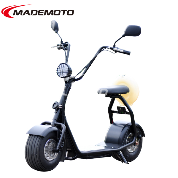 2016 New Wheel One Piece Solid Frame Design Electric Scooter Motorcycle Bikes In China