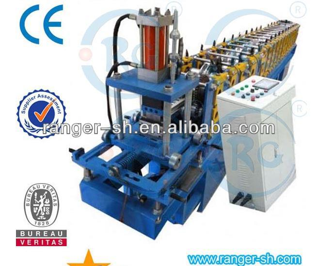 Steel C Channel Roll Forming Machine Top Hat Purlin Machine