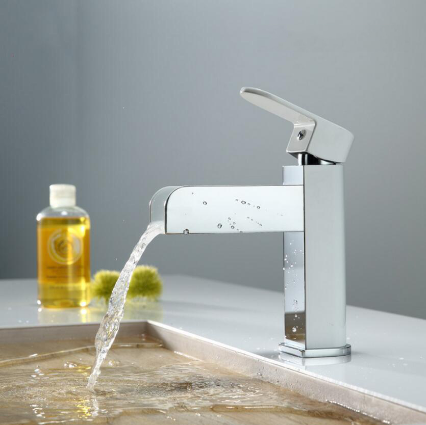 Grifos de ba o moderno cascada lavabo grifo led grifo Grifos de bano modernos
