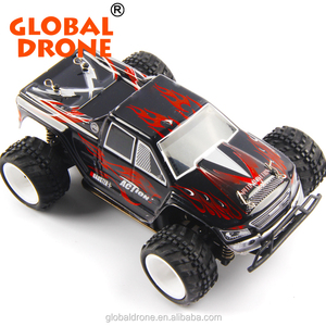 Global Drone WLtoys P929 1/28 RC radio control Car Electric 4WD Monster Truck RC Toys Remote Control multi-player model toy