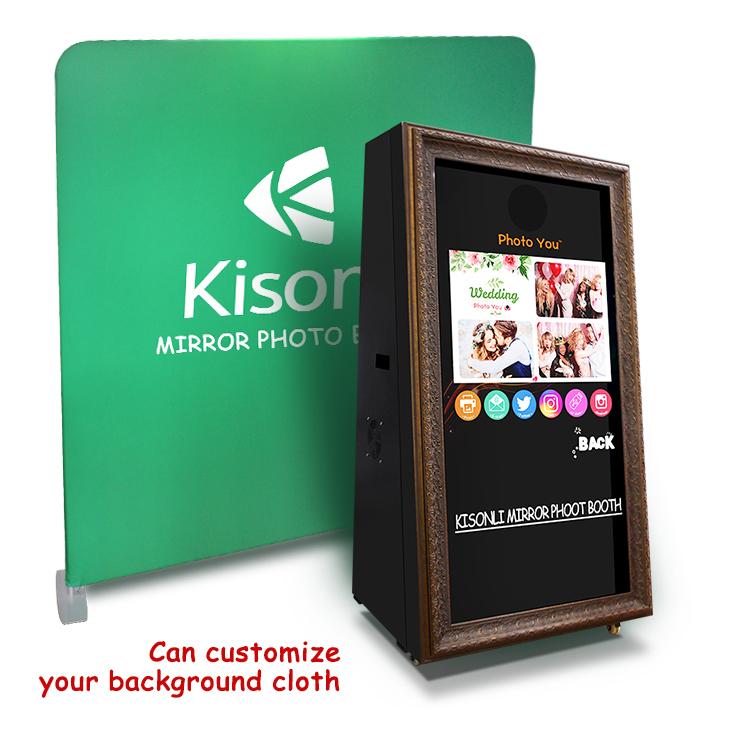 Diy Portable 3d Automatic Digital Printer Photobooth Smart Social Media Selfie Station Magic Photo Mirror Booth Buy Mirror Booth Selfie