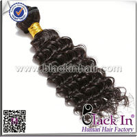 5A Deep Wave Remy Virgin chinese human hair weaving