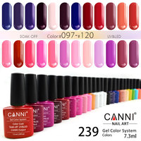 #30917J CANNI Our Gel Your Brand 239 Colors Soak Off UV /LED Lamp Gel Nail Polishes Lacquer