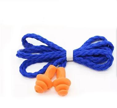 Стильный 3 шт. мягкие силиконовые проводные беруши многоразовые защиты органов слуха беруши для труда спальный 5-022