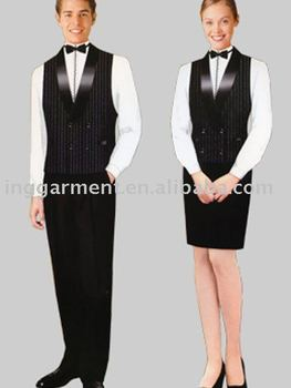 Restaurant Work Suit Buy Restaurant Work Suit Hotel Uniform Manager Uniform Product On Alibaba Com