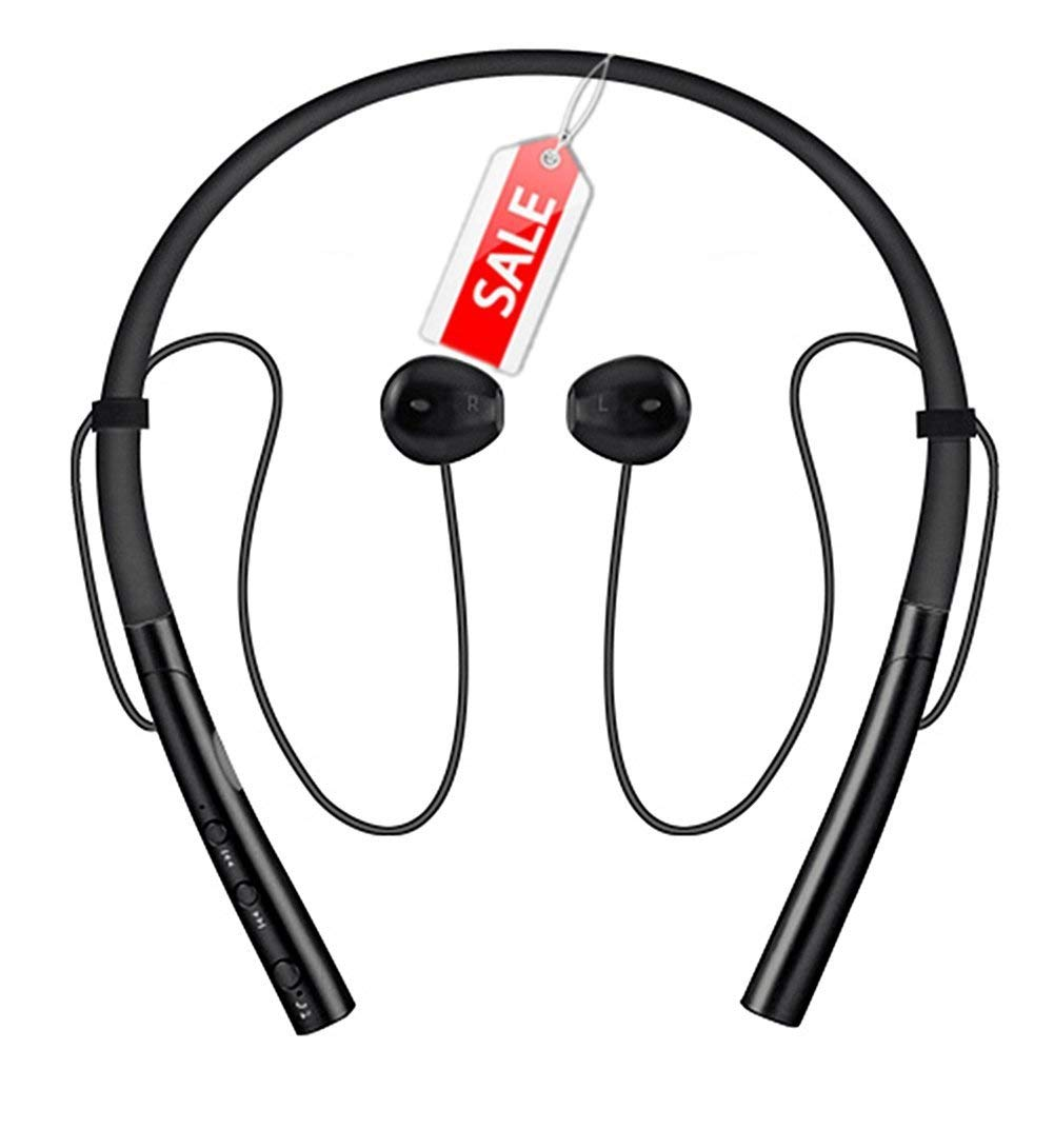 edc7f125ab8 Get Quotations · Running Neckband Bluetooth Headphones - Stereo in Ear Earbud  Sports Earphone Wireless Headset Magnetic Earbuds Handsfree