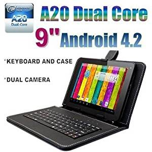 """Goldengulf 9"""" INCH ANDROID 4.2 TABLET PC 8GB DUAL CAMERA DUAL CORE A23 + KEYBOARD CASE BUNDLE,Registered in Washington"""