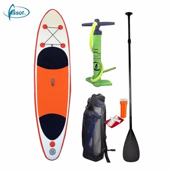 Fissot OEM Design surfing inflatable paddle board with all accessories