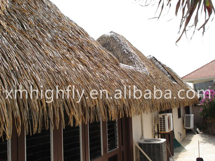 palm roof thatch