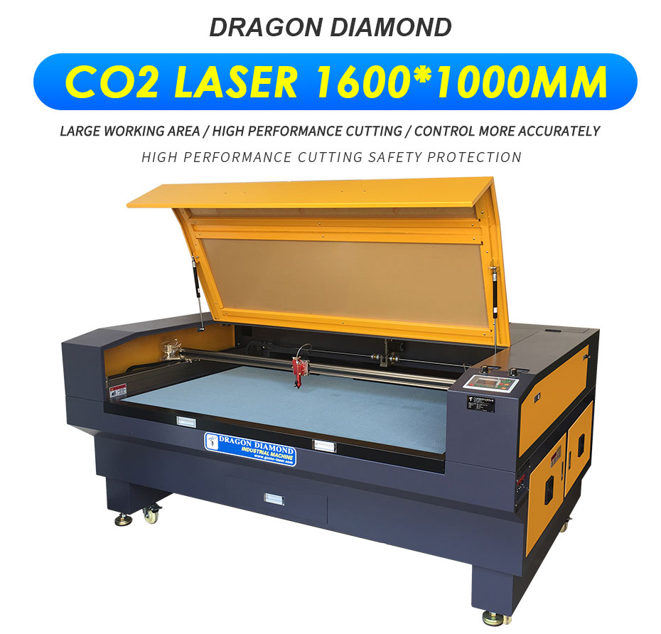 Acrylic Paper Cardboard Fabric Laser Cutting Engraving Machine