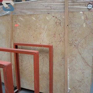 wholesale price Valencia yellow marble slabs