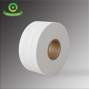 Wholesale water absorption and soft mother virgin jumbo  roll toilet paper