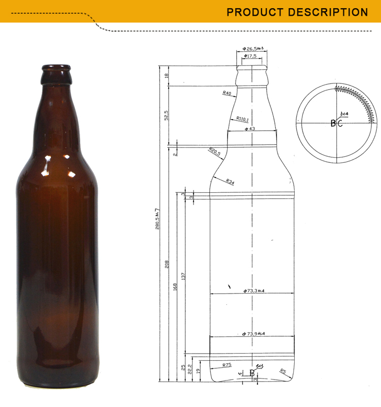 Ml Glass Bottle Weight