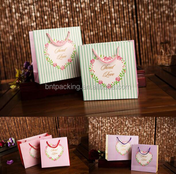 New style low price hot sell hallmark gift bags
