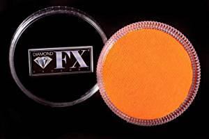 Diamond FX Face Paint Neon 32g Orange