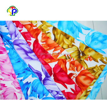 100% Printed spun rayon viscose fabric wholesale