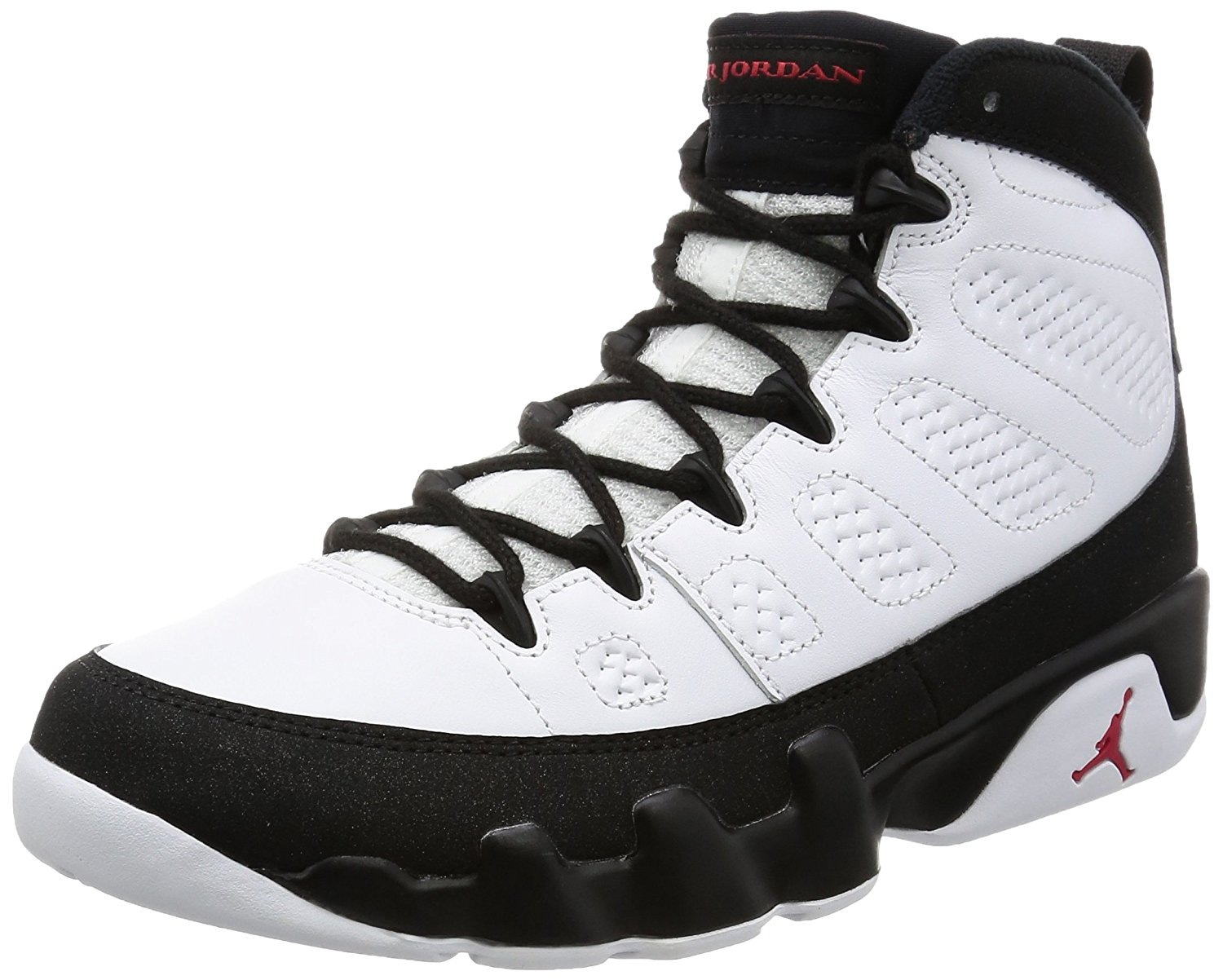 best loved 9367e 9485b Buy Nike Mens Air Jordan 9 Retro Playoff White/True Red-Black Leather Size  9.5 in Cheap Price on m.alibaba.com