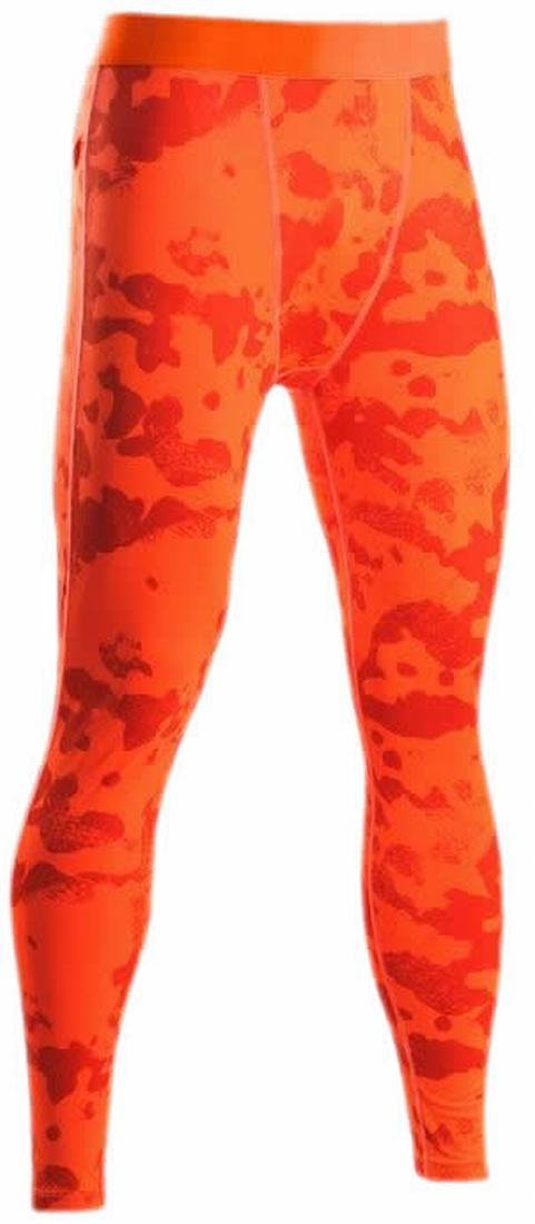 4505595d03a50 Get Quotations · KXP Mens Athletic Stretchy Tights Compression Fast Dry Running  Workout Camo Fitness Pant Tights