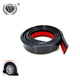 1.5M Carbon Fiber Rubber Wheel Eyebrow Protector Arch Trim Lips Strip Fender Flare Universal