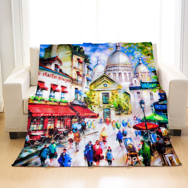 Customized crafts photo blanket