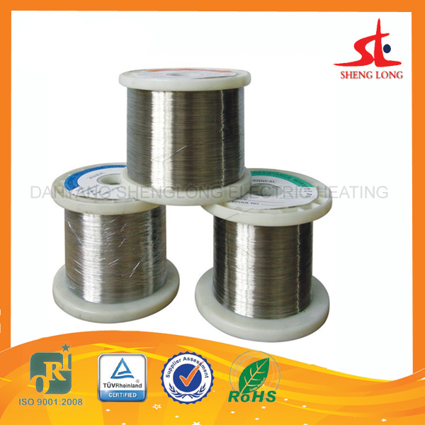 China Supplier heat resistant wire,cr 20% ni 80% nichrome wire