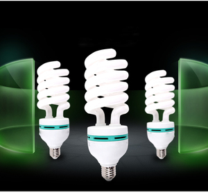 Photography lighting PBT body E27 B22 E26 E14 45w 85w energy saver light CFL compact fluorescent bulbs made in China