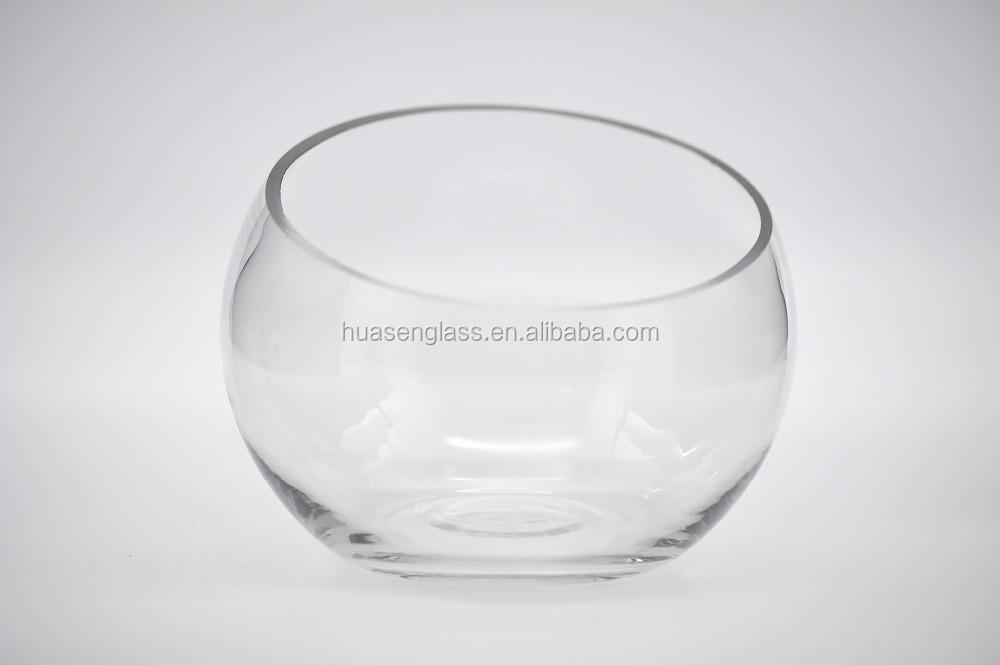 biseau clair oblique bouche vases en verre pas cher vases. Black Bedroom Furniture Sets. Home Design Ideas