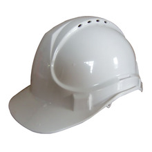 CE American 100% ABS industrial safety helmet with chin strap