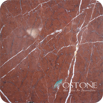 Whole Natural Rojo Alicante Marble Red Floor Tile For Modern Decorative
