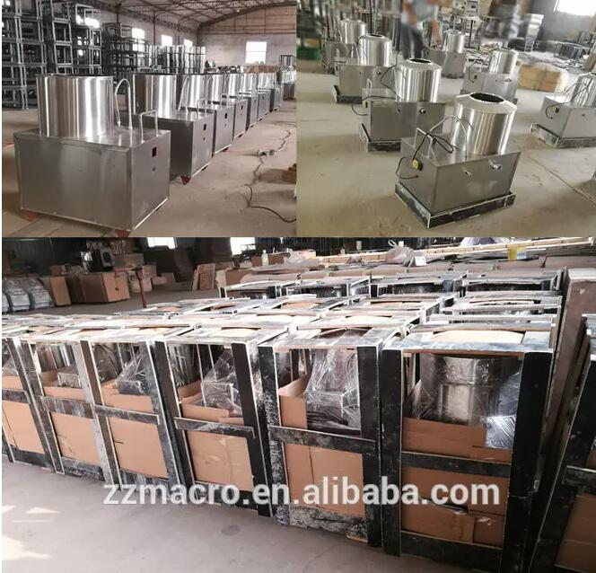 Commercial food processor machine automatic electric potato peeling machine