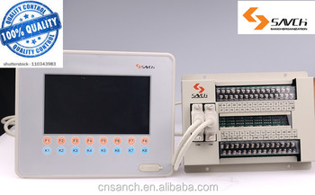 SANCH 7 inch touch screen panel plc hmi