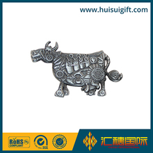 high quality wholesale custom lovely animal silver plated soft enamel lapel pin