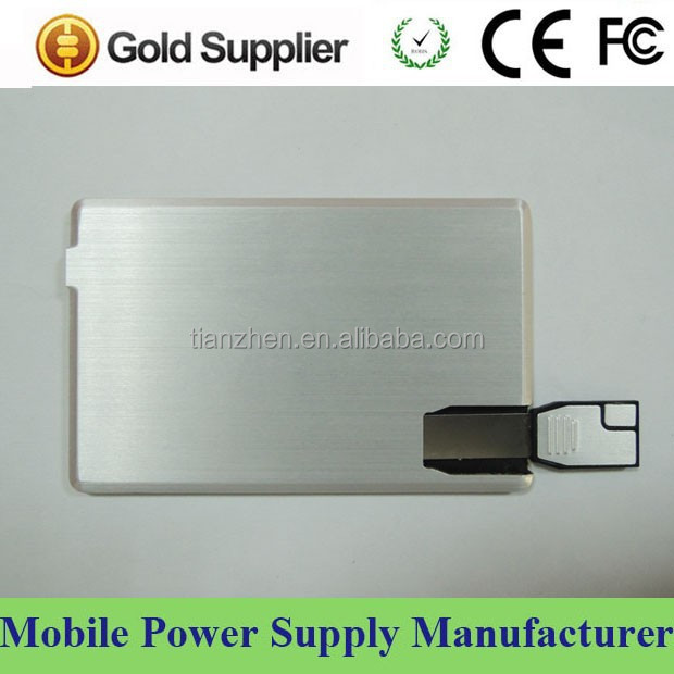 2 in 1 dual function usb flash drive power bank with different capacity memory choice 1GB/2GB/4GB/8GB/16GB
