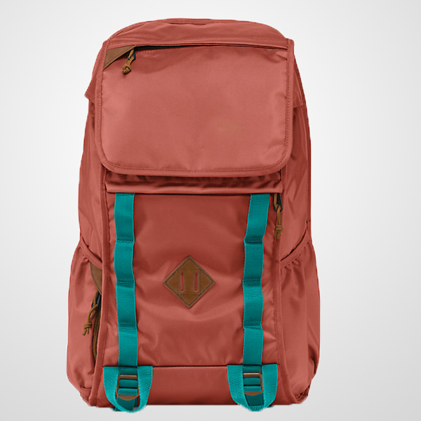 Outside Plain Backpack With Tablet Pocket And Side Water Bottle ...