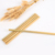 natural biodegradable drinking bamboo straws with brush