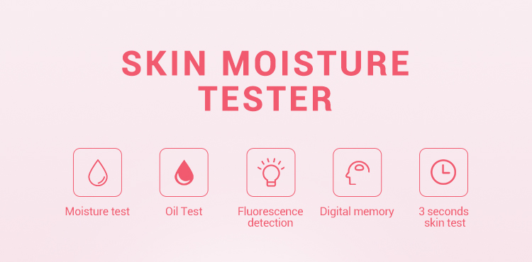 Skin Care Facial moisture water oil detector skin scanner analyzer digital beauty equipment