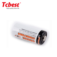 Chine fournisseur de batterie CR123A, CR123A 3.0 V 1500 mAh photo batterie au lithium batteries cr14250