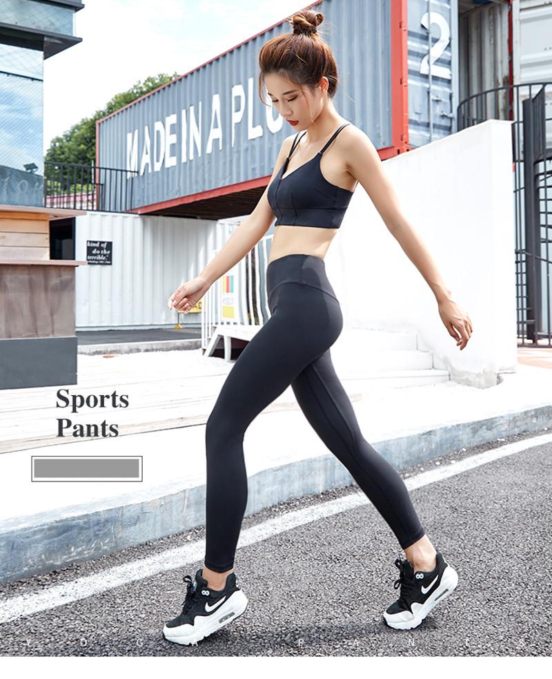 Çin Fabrikadan AMESIN YLP04 Yüksek Rise Yoga Tayt Pantolon