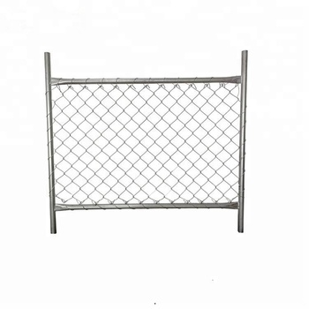 6ft* 10ft galvanized outdoors removable chain link temporary fence panel partition