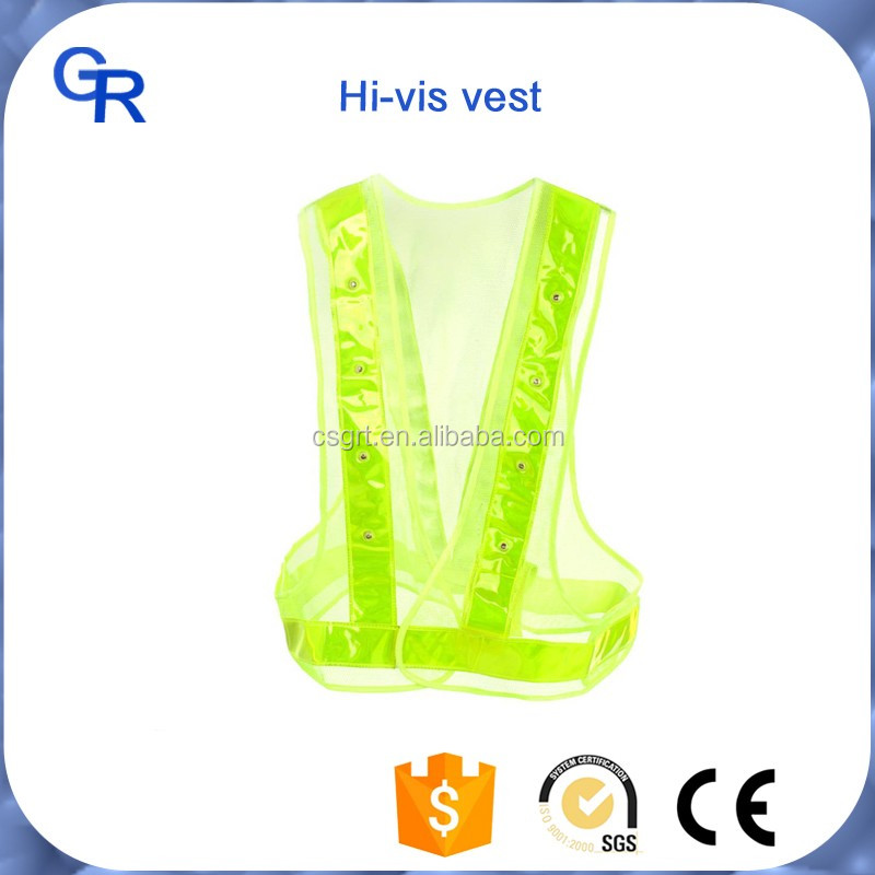 hi vi safety vest, High Visibility Neon Sports Training Reflective Ankle and Arm Band Kit