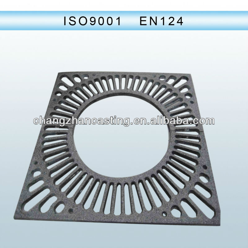 Iron casting fiberglass SMC BMC tree grating