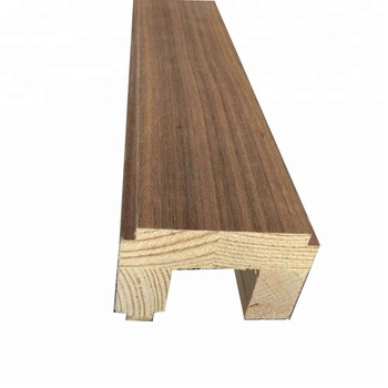 Veneer Wrap Finger Joint New Zealand Pine Wood Architrave Profile Buy Wood Architrave Finger Joint Wood Architrave Veneer Wrap Architrave Product On