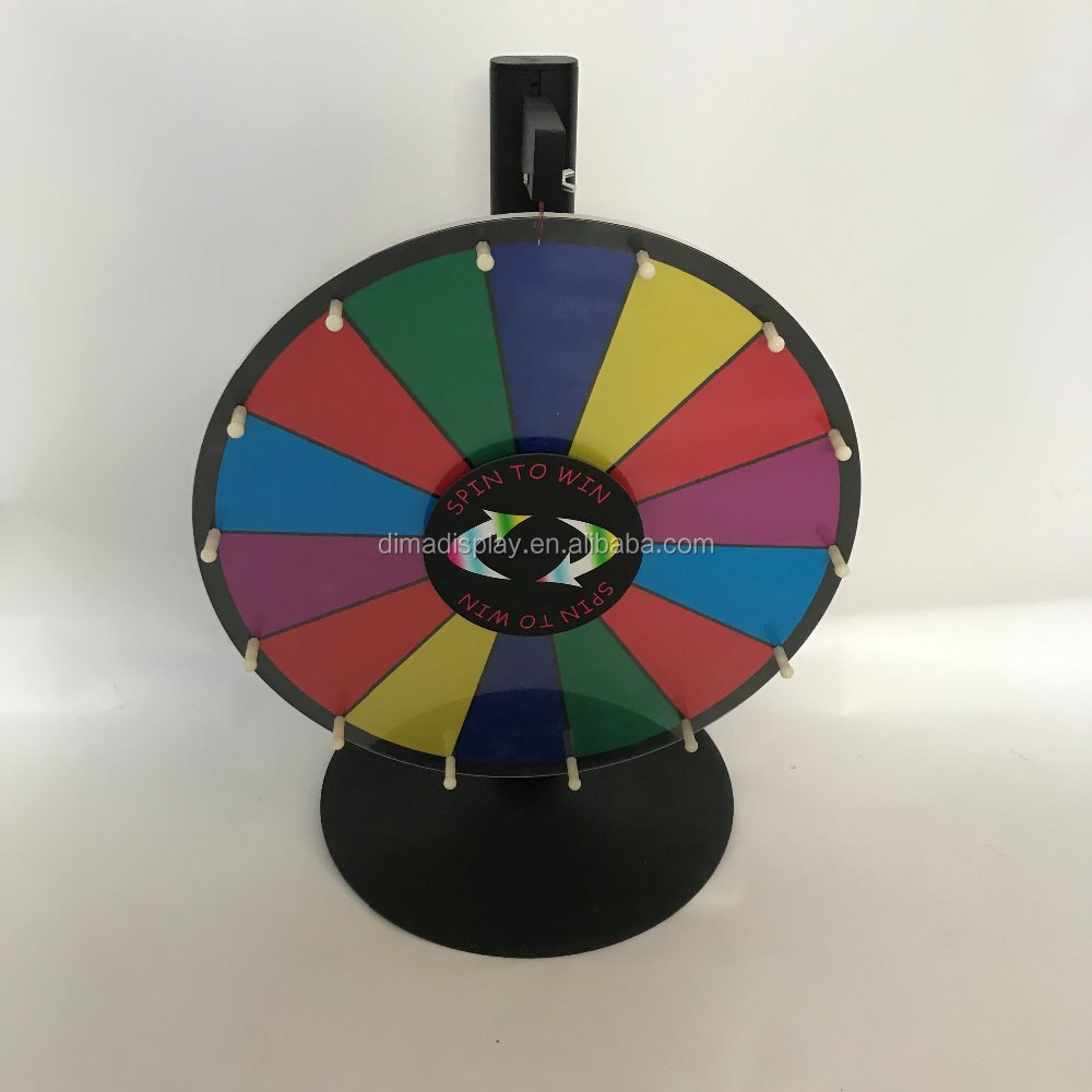 prizing spinning wheel