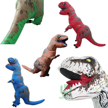 Alta Calidad Hi 5 Color Animal Inflable T-rex Dinosaurio Traje - Buy ...