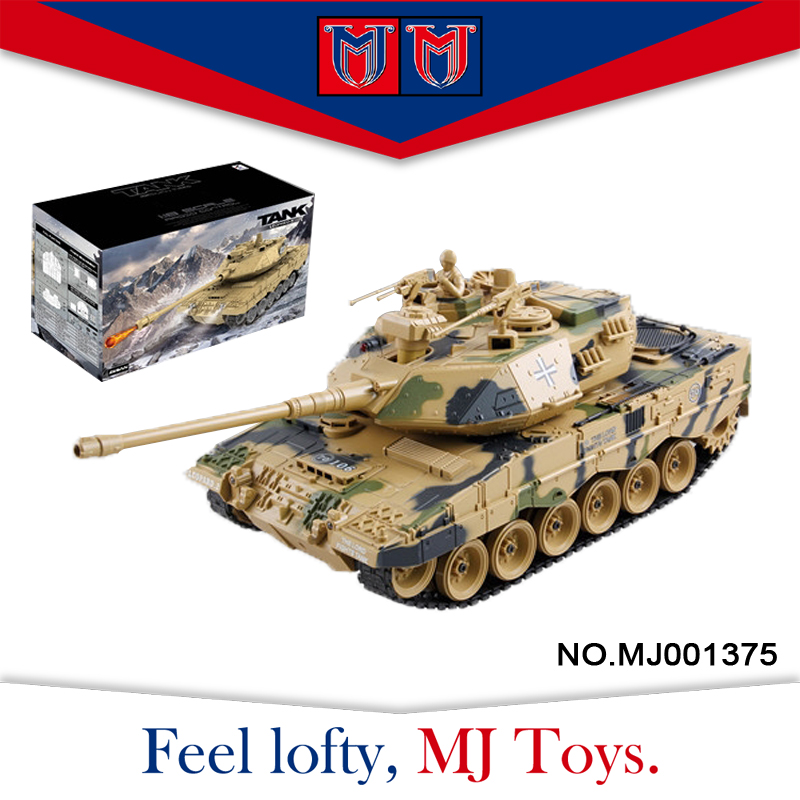 alibaba wholesale 1:18 scale plastic rc toys model toy tank with multi-function