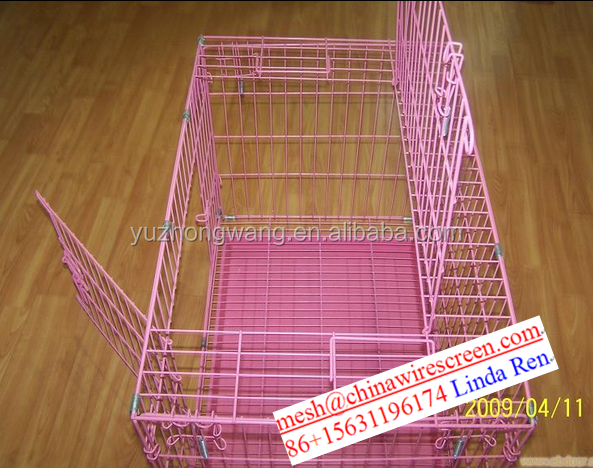 folding hamster cage