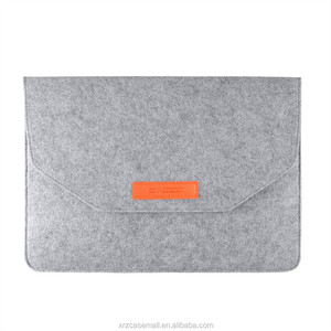 Wool Felt Carrying Laptop Sleeve Bag for New Macbook 12 inch