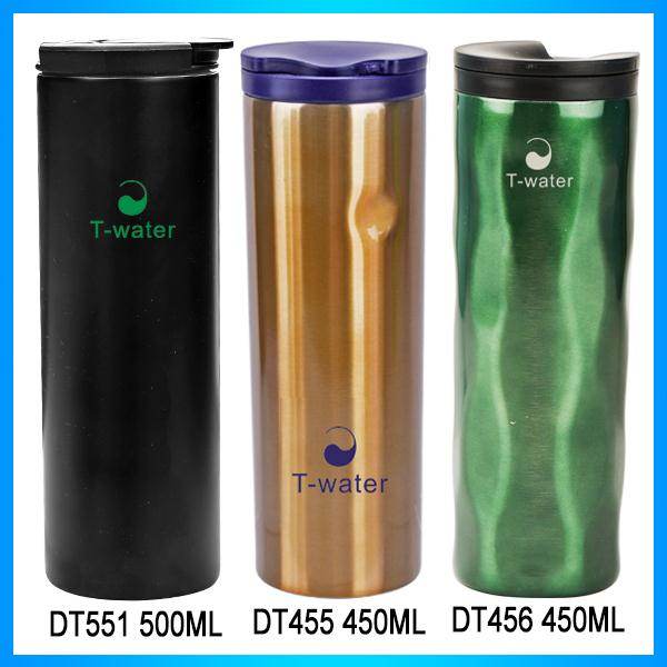 2017 new products stainless steel vacuum coffee flask and thermos travel mug