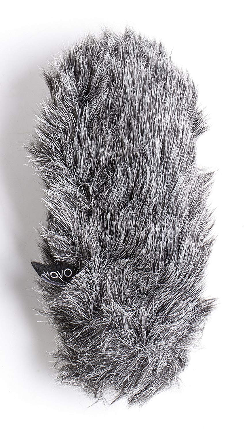 Movo WS-G8 Furry Outdoor Microphone Windscreen Muff Custom Fit for Rode VideoMic Pro (Dark Gray)